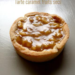 Caramel-Nut Tart.