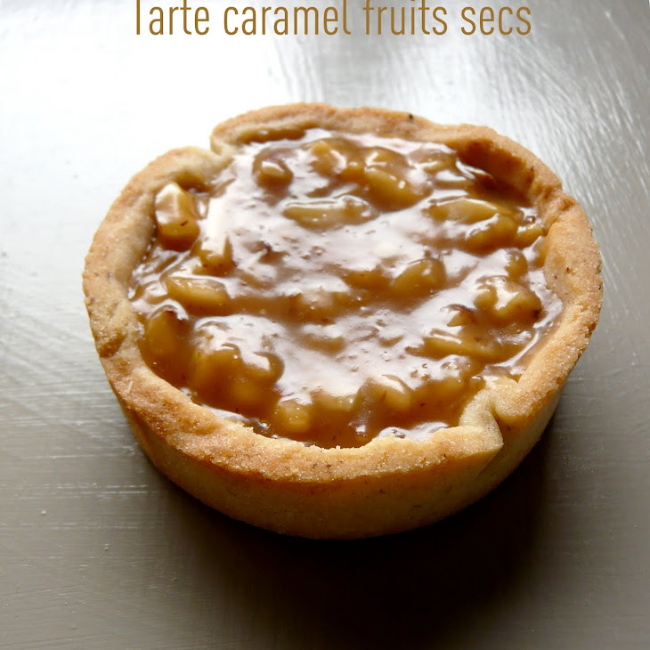 Caramel-Nut Tart Recipe
