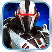 Robot Run Galaxy Space Game