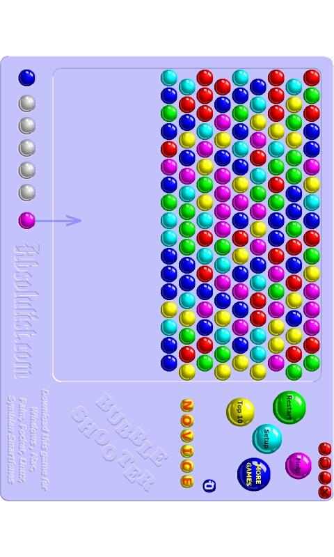 flash bubble shooter