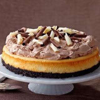 PHILADELPHIA® Triple-Chocolate Cheesecake.
