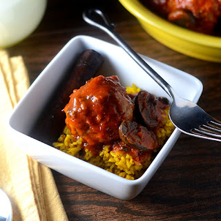 Moroccan Meatballs.
