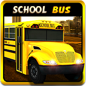 3D School Bus Drive Simulator