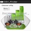 CSV Finder icon