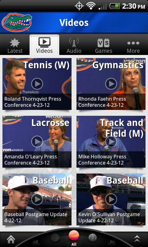Florida Gators - screenshot