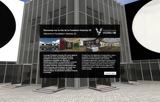 Fondation Vasarely 3D