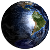 Globe 3D Earth HD LWP