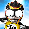Stickman Downhill Motocross icon