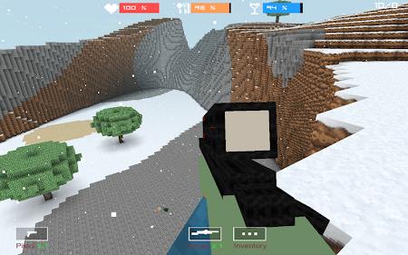 Cube Gun 3D : Winter Craft 1.0 screenshot 44133