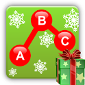 Kids Connect the Dots Xmas icon