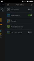 Screenshot of Night Mode For Dolphin Browser
