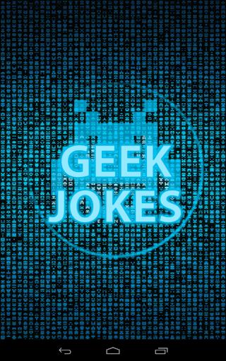 Geek Nerd jokes