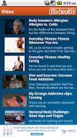 Screenshot of Discovery Fit & Health