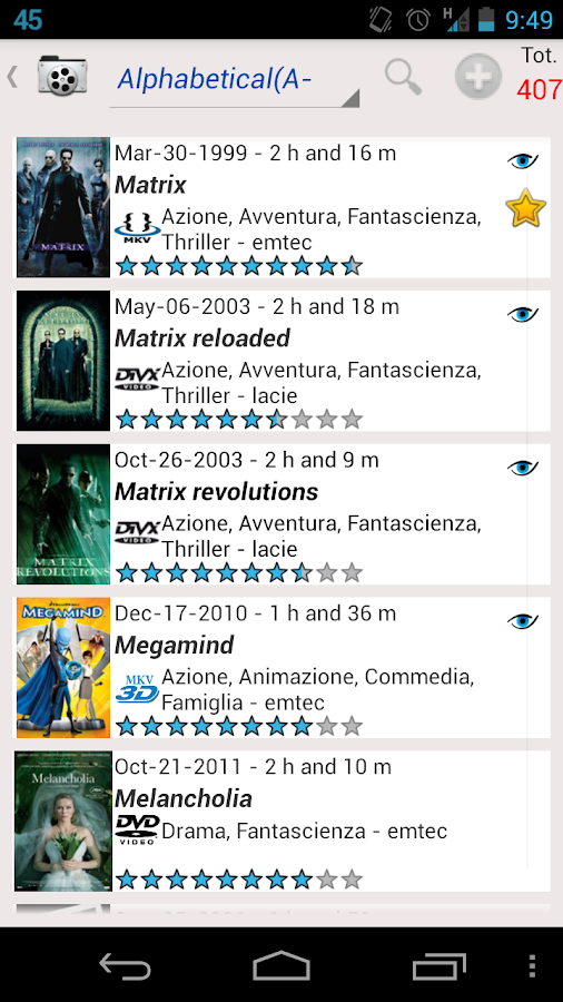MoviesBook Free - screenshot