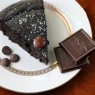 Dark Chocolate Coconut Cake