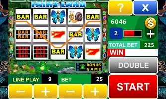 Screenshot of Fairy Land Slot Machine
