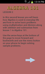 Algebra 102 APK screenshot thumbnail 15
