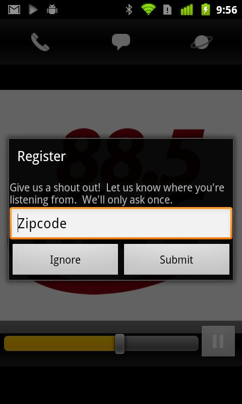 88.5 KLJC - screenshot