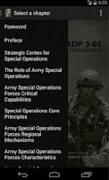Screenshot of ADP 3-05 Special Forces