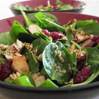 Jamie's Cranberry Spinach Salad