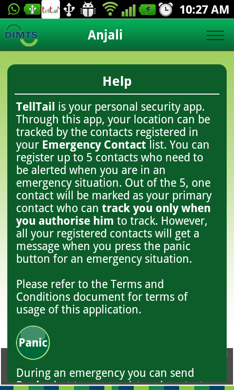 TellTail (Women Safety)- screenshot
