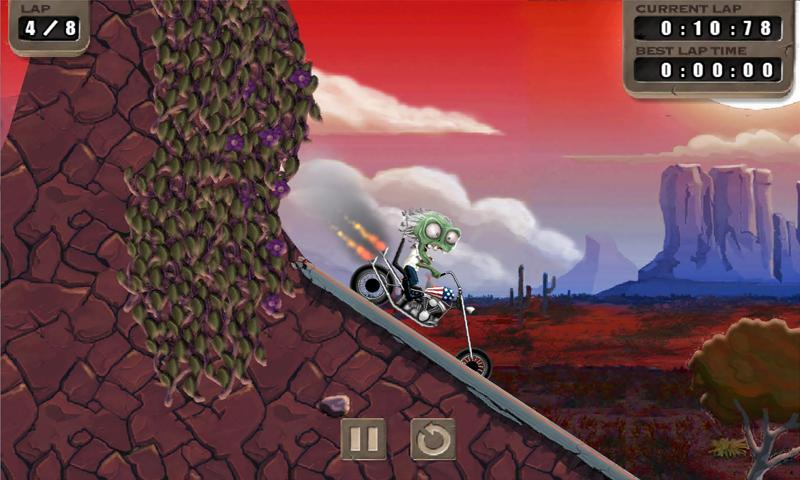 Zombie Rider- screenshot