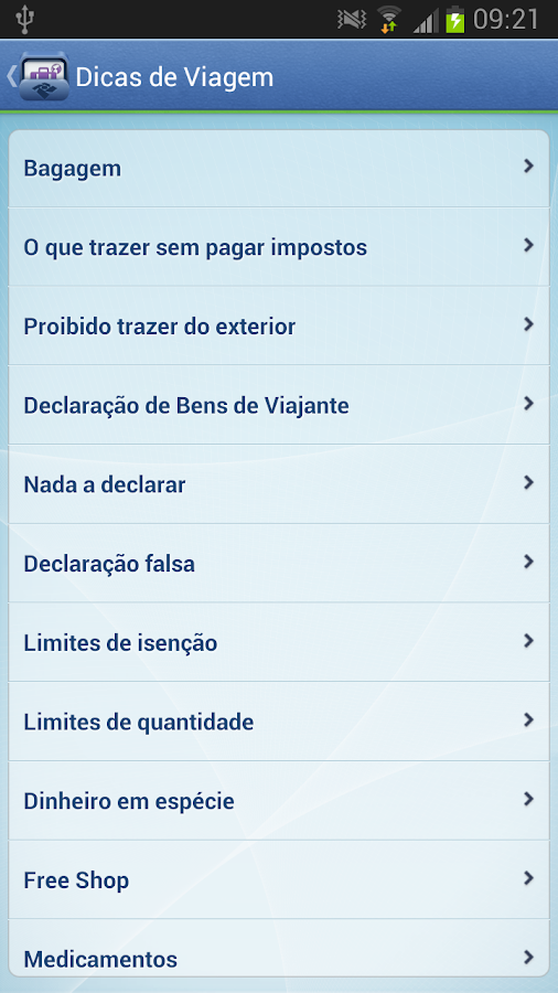 Viajantes - screenshot