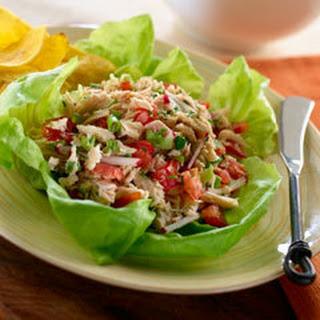 Easy Tuna Ceviche.