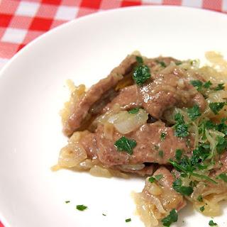 Calf's Liver Venetian Style (Fegato alla Veneziana)