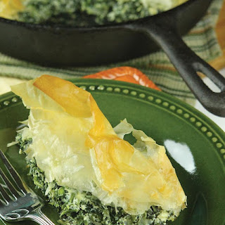 Skillet Spinach Pie