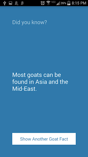 Fun Facts - Goat Edition