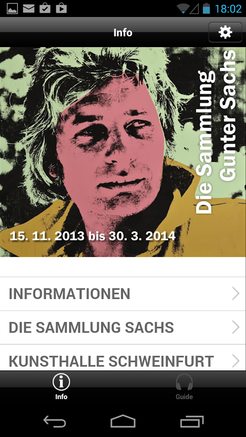 Die Sammlung Gunter Sachs- screenshot