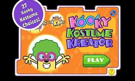 玩休閒App|Wubbzy's Kooky Kostume Kreator免費|APP試玩