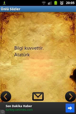 Ünlü Sözler - screenshot