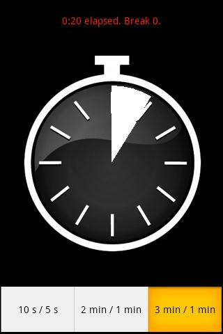 Boxing Clock - screenshot