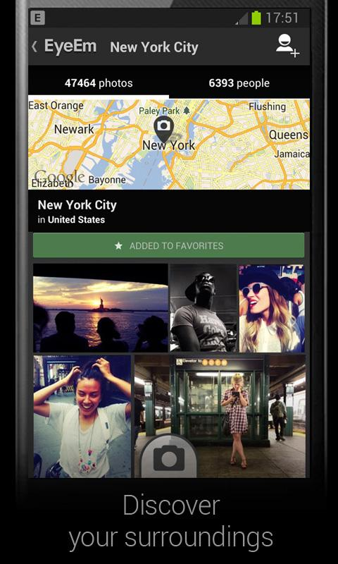 EyeEm - Photo Filter Camera - screenshot