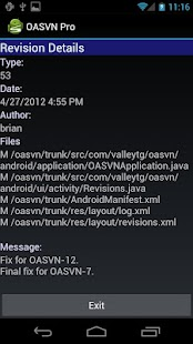Open Android SVN (OASVN) - screenshot thumbnail