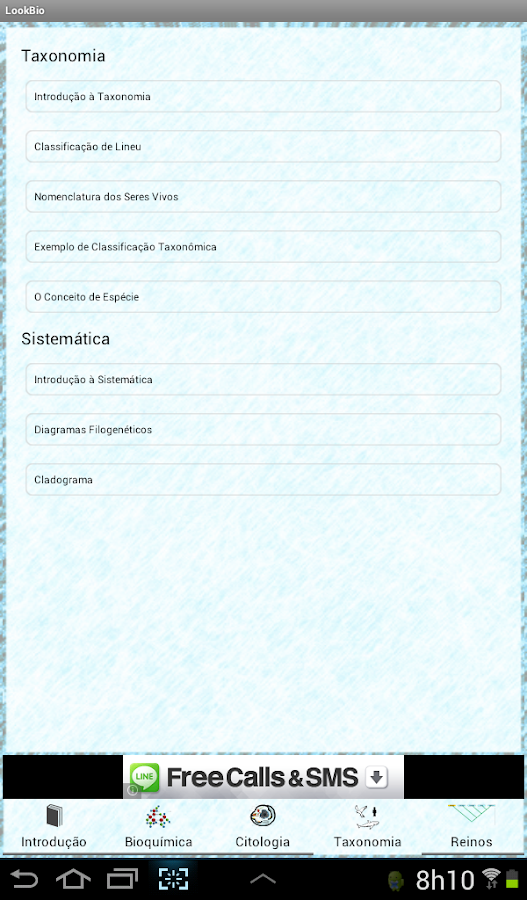 LookBio - Biologia- screenshot