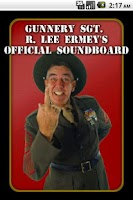 Screenshot of R. Lee Ermey's Official Sound