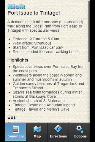 iWalk Port Isaac to Tintagel