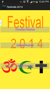 2014 Festivals - screenshot thumbnail