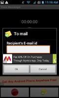 Screenshot of Voice Messenger