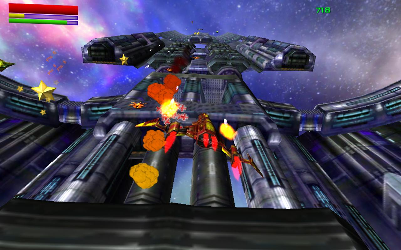 Galactic Run Free - screenshot