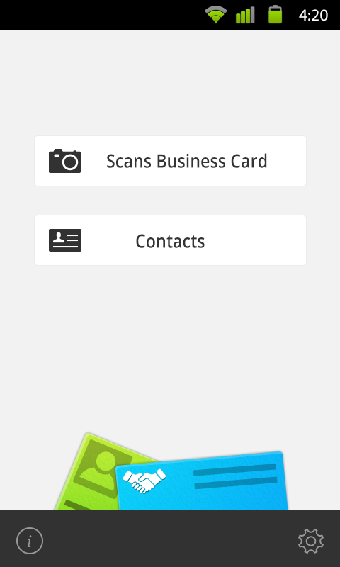 Card scanner android apps on google play for Scan business cards into google contacts