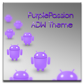ADW Theme Purple Passion