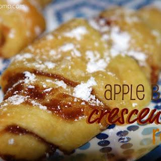 Apple Butter Crescent Rolls.