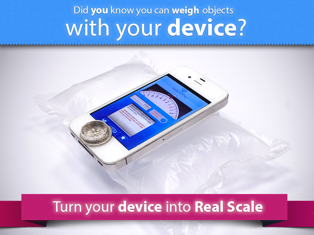 Digital Scale real scale app - screenshot