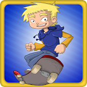 Jumpy Skater - Skateboard Boy
