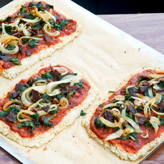 Cauliflower Crust Bacon Pizza