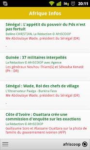 Afrique Infos et Actu
